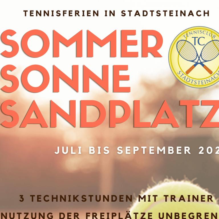 Sommer Sonne Sandplatz