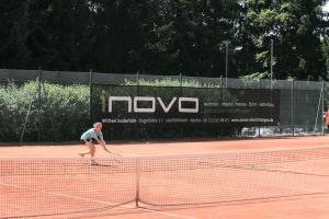 Außenanlage - Tennisblende